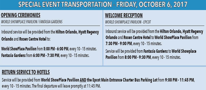 Opening Ceremonies Transportation Information