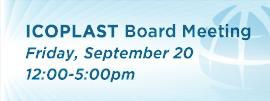 ICOPLAST Board Meeting