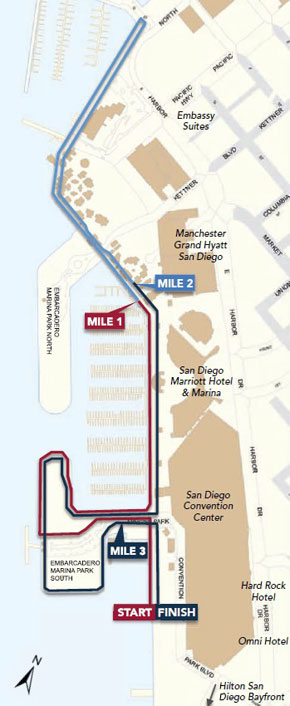 Close the Loop 5K Route