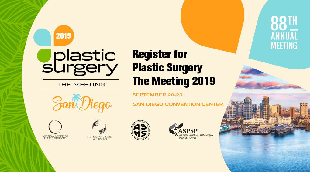 Plastic Surgery The Meeting 2019