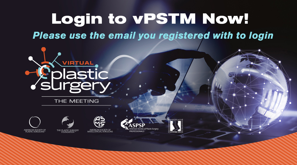 Click Here to Login to Plastic Surgery The Meeting 2020